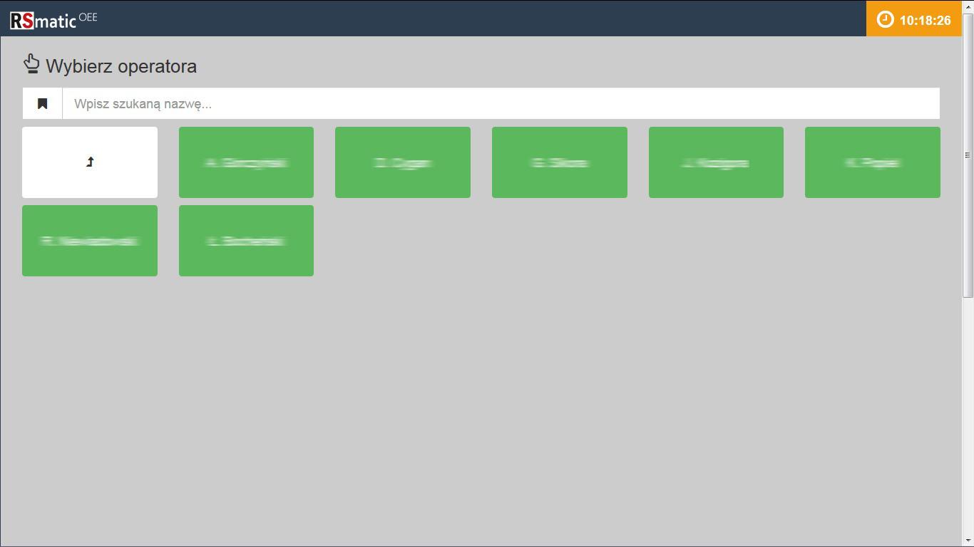 Panel -operatorzy