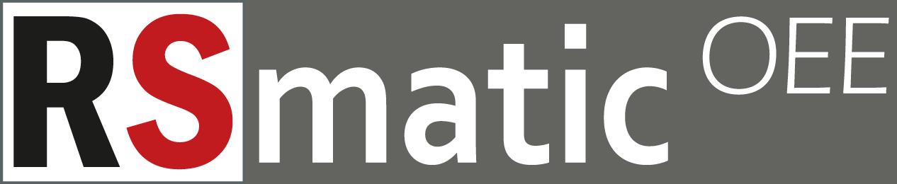 RSmatic OEE - Dedykowany system do automatycznego raportowania wydajności pracy maszyn oraz śledzenia procesu produkcyjnego.